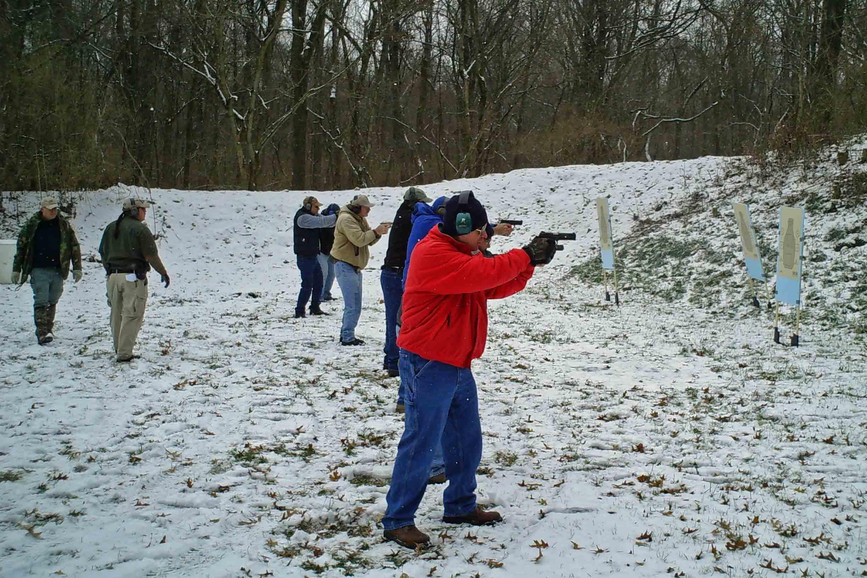 class shoots a drill